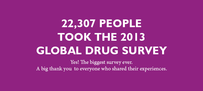 The 2013 Global Drug Survey
